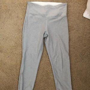 New balance light gray leggings, never worn